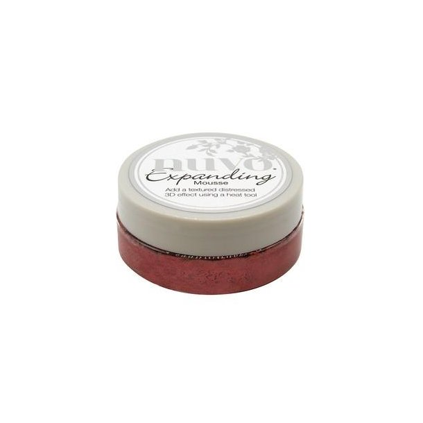 Nuvo Expanding Mousse - 1706N - Red Leather