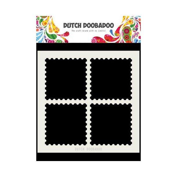 Dutch Doobadoo Mask Art - Postal Stamps