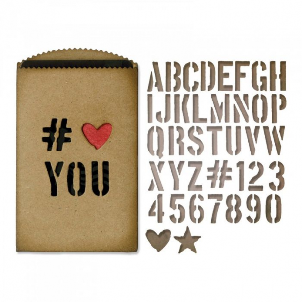 Sizzix-Tim Holtz Thinlits Die - 662687 - Gift Card Bag