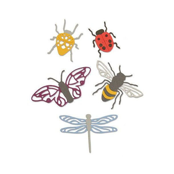 Sizzix-Thinlits Die - 663423 - Insects