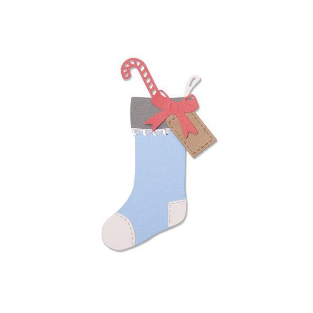 Sizzix-Thinlits Die - 663426 - Christmas Stocking