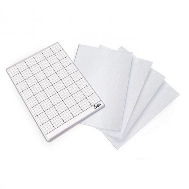 Sizzix  Sticky Grid Sheets 5 ark 663533