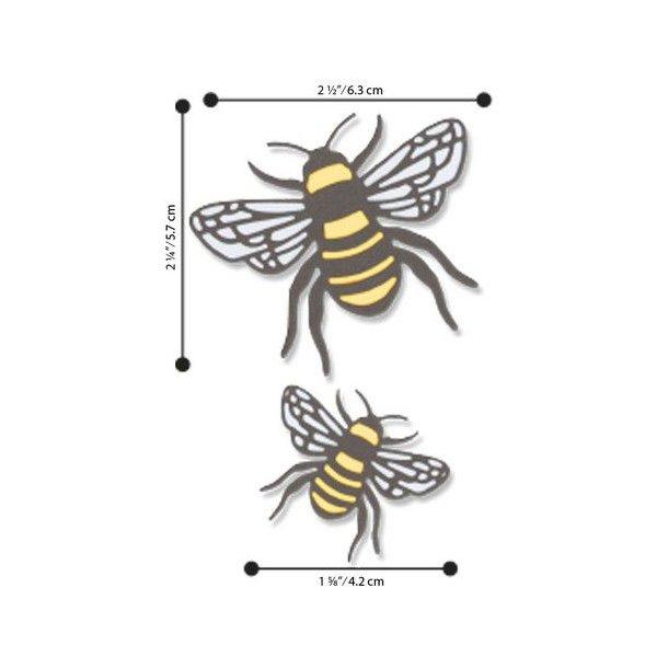 Sizzix - Thinlits Die - 663852 - Bee