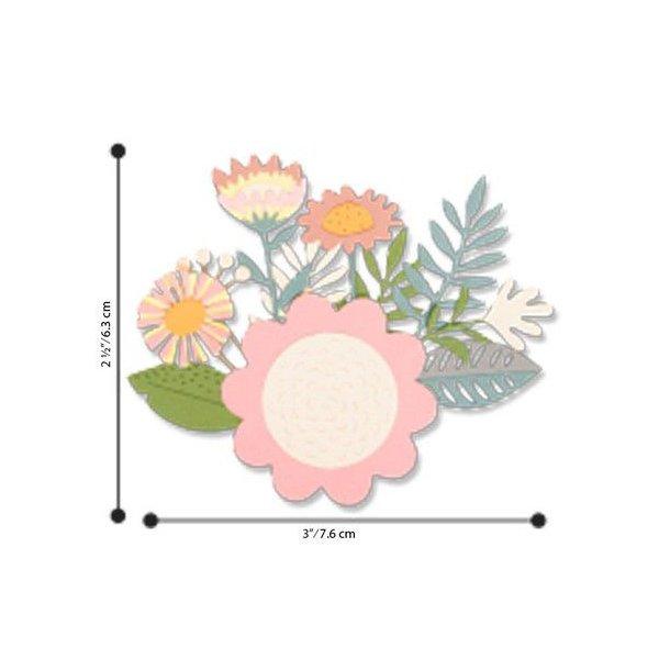 Sizzix - Thinlits Die - 663854 - Floral Tropics