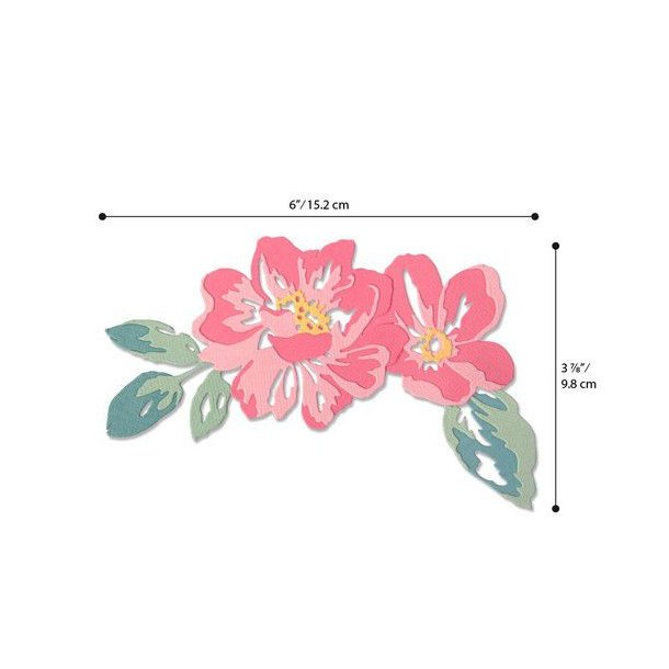 Sizzix - Thinlits Die - 664359 - Floral Layers