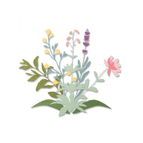 Sizzix - Thinlits Die - 664381 - Spring Stems