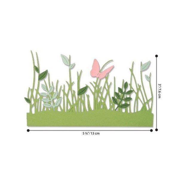 Sizzix - Thinlits Die - 664382 - Springtime Borders