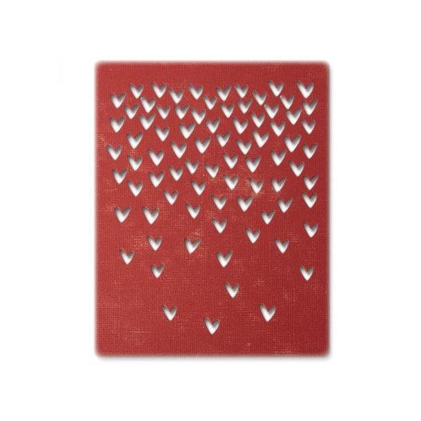 Sizzix-Tim Holtz Thinlits Die - 664415 - Falling Hearts