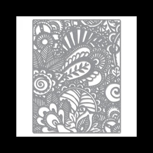 Sizzix-Tim Holtz Thinlits Die - 664417 - Doodle Art
