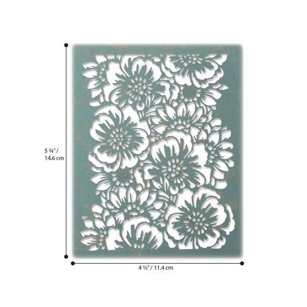 Sizzix-Tim Holtz Thinlits Die - 664418 - Bouquet