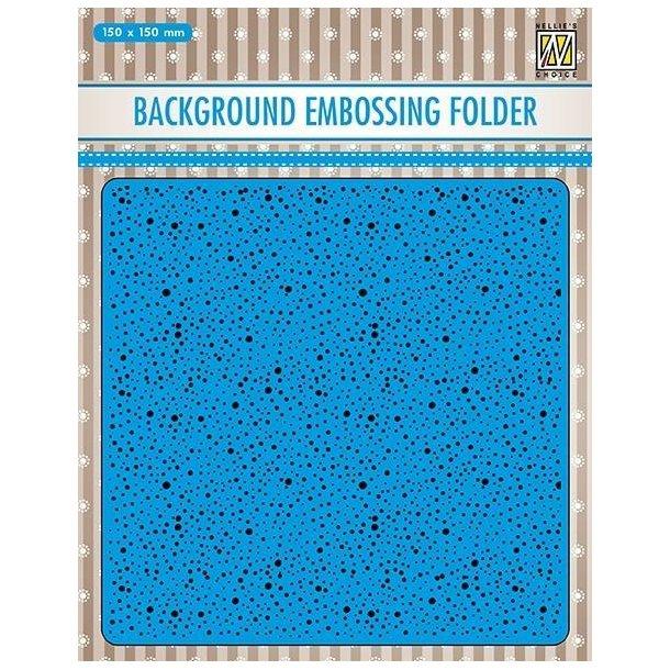 Nellie Snellen Embossing Folder EEB030 - Dots