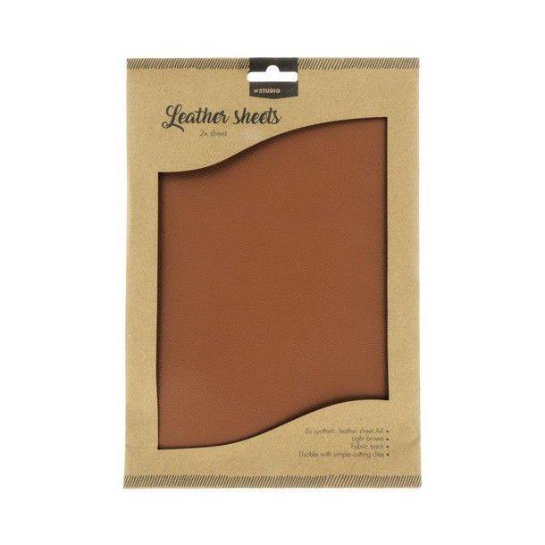 Studio Light Fake Leather FLSSL02 - Light Brown