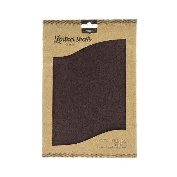 Studio Light Fake Leather FLSSL03 - Dark Brown