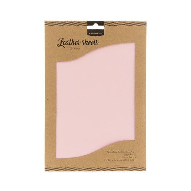 Studio Light Fake Leather FLSSL05 - Baby Pink