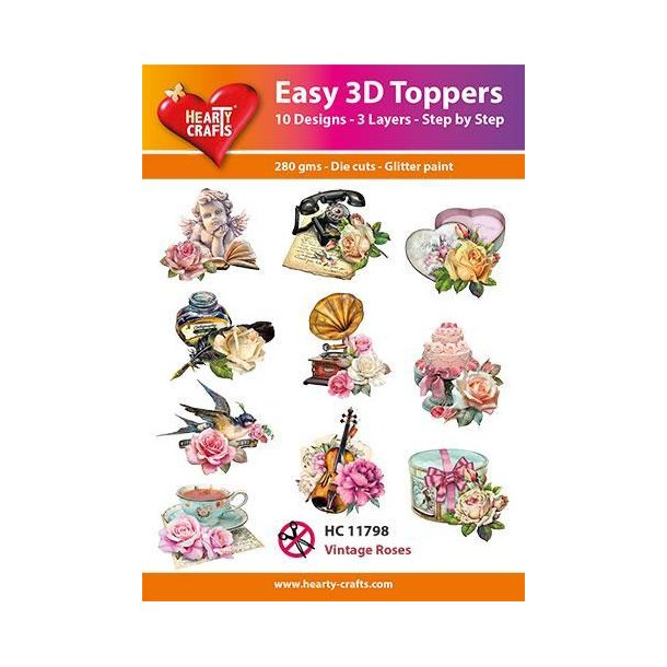 Easy 3D Toppers HC10798