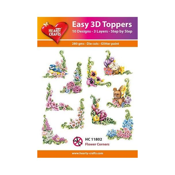 Easy 3D Toppers HC10802