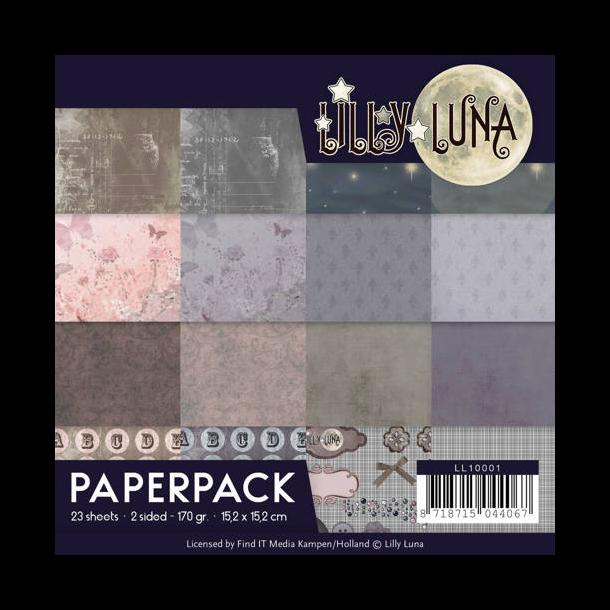 Lily Luna Papirblok - LLPP10001
