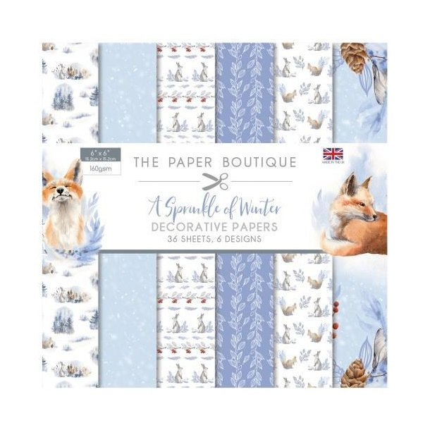 Paper Boutique Paperpad - A Sprinkle of Winter - PB1142