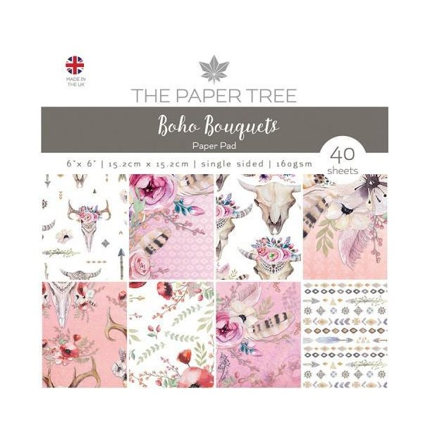 Paper Tree Paperpad - Boho Bouquets - PTC1016