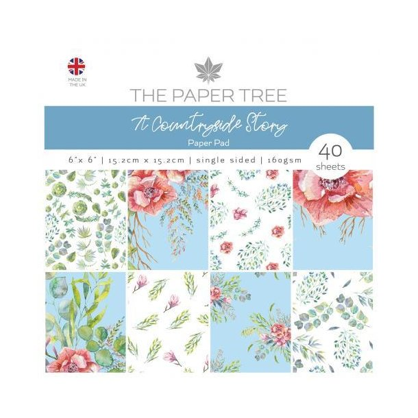 Paper Tree Paperpad - A Countryside Story - PTC1037