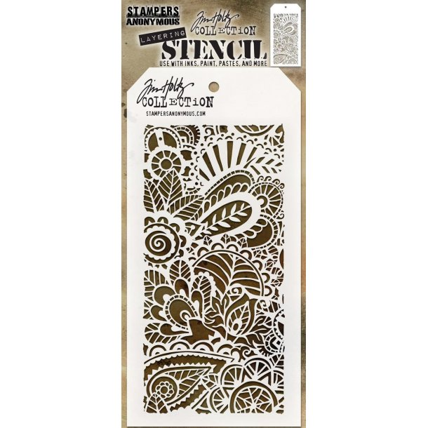 "Tim Holtz Layered Stencil ""Doodle Art 1"" TH-S141"