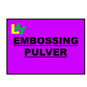 Embossing Pulver
