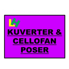Kuverter & Cellofanposer