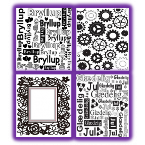 Nellie Snellen Embossing Folder