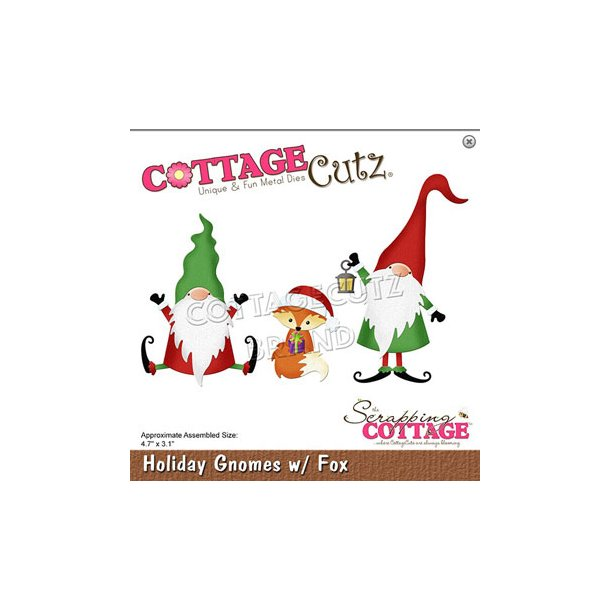 Cottage Cutz - CC-681 - Ferienisser og Ræv