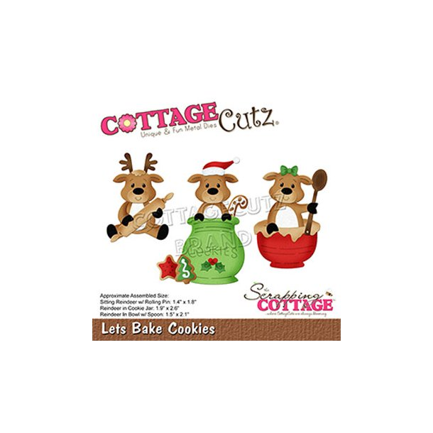 Cottage Cutz - CC-683 - Bage Kager