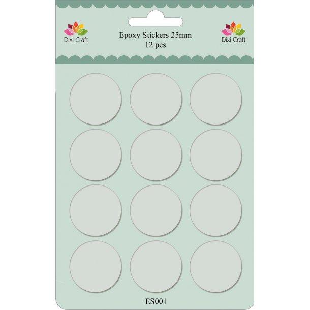 Dixi Craft Epoxy Stickers 25mm - ES001