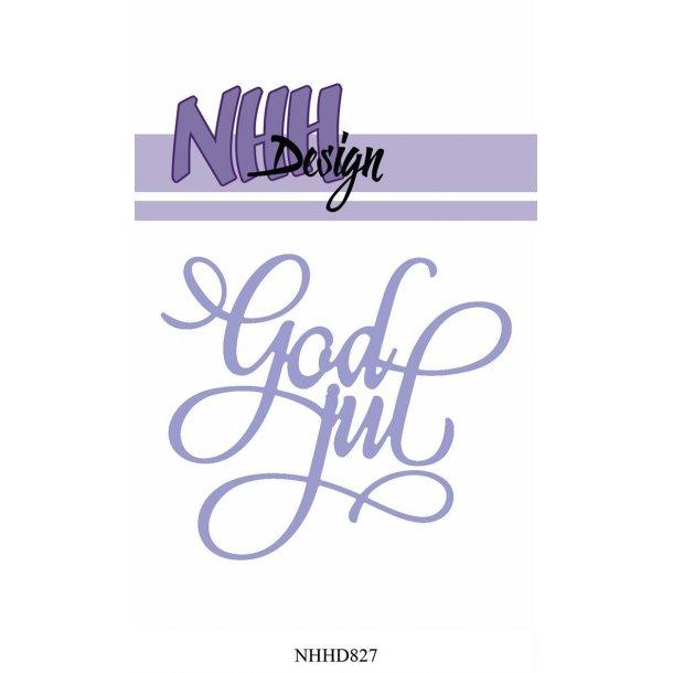NHH Design Dies - NHHD827 - God Jul