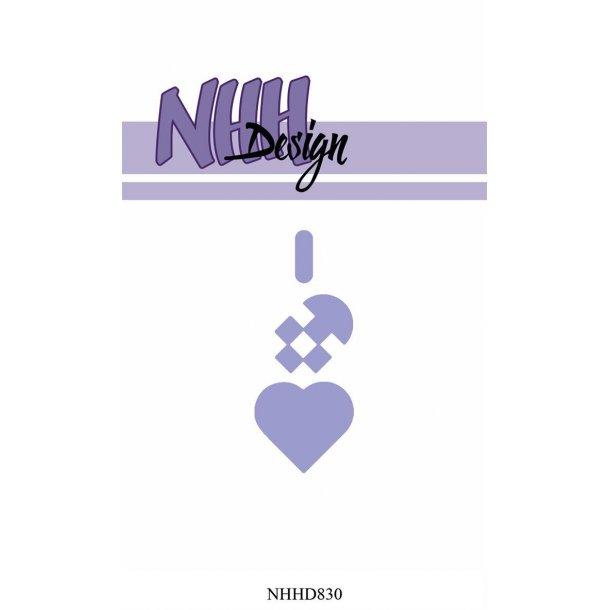 NHH Design Dies - NHHD830 - Lille Julehjerte