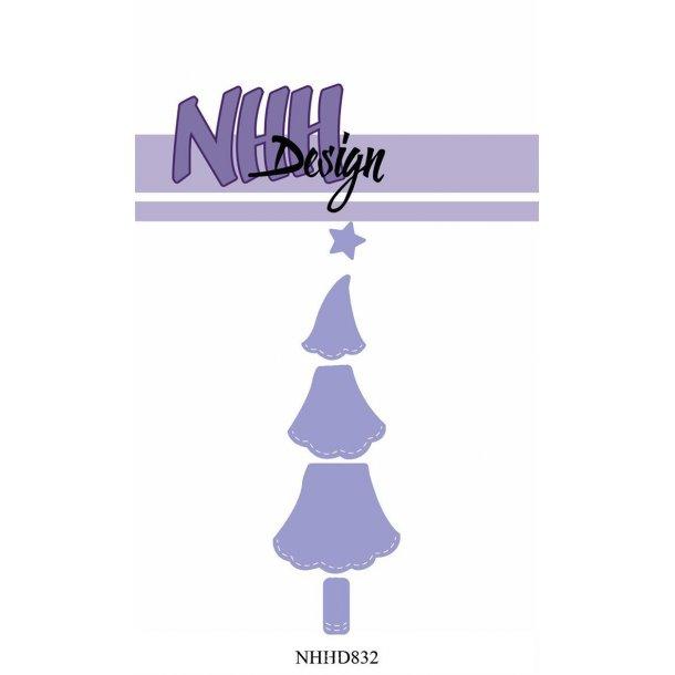 NHH Design Dies - NHHD832 - Lille Juletræ