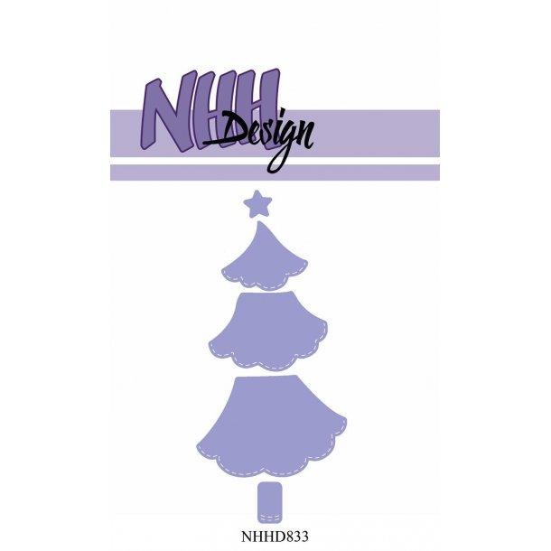 NHH Design Dies - NHHD833 - Stor Juletræ
