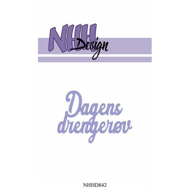 NHH Design Dies - NHHD842 - Dagens drengerøv
