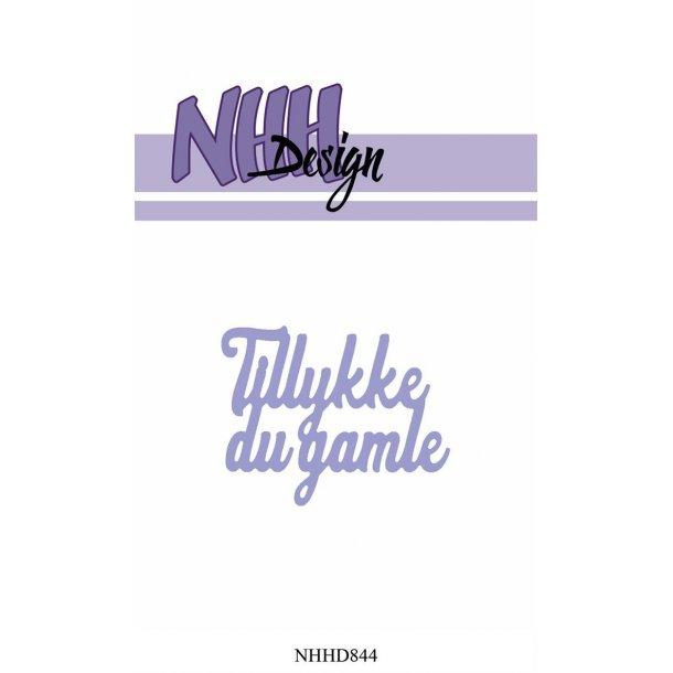 NHH Design Dies - NHHD844 - Tillykke du gamle