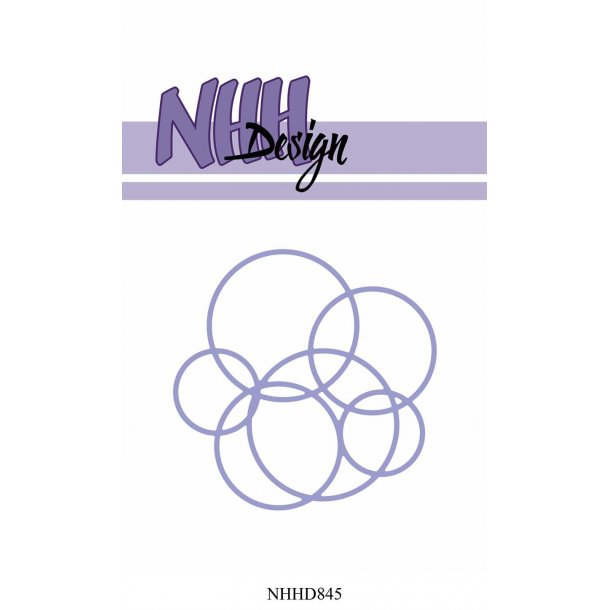 NHH Design Dies - NHHD845 - Bubbles