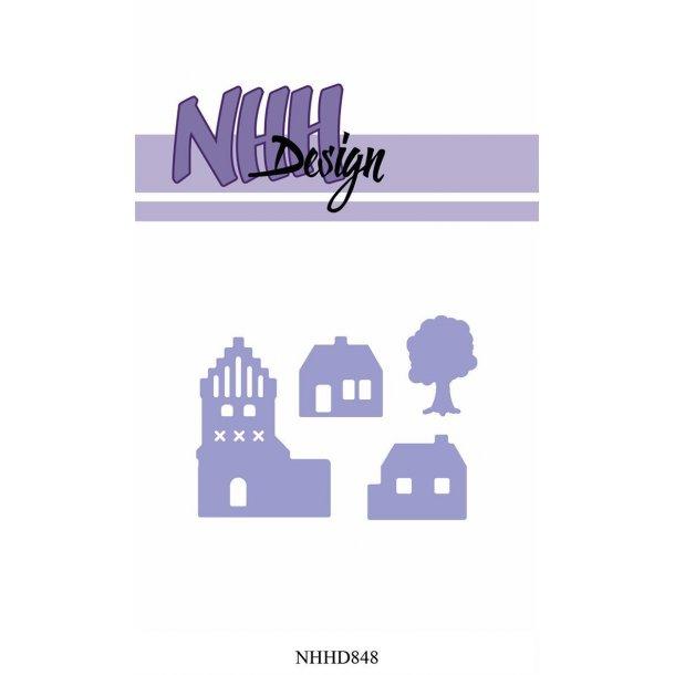 NHH Design Dies - NHHD848 - Small Village