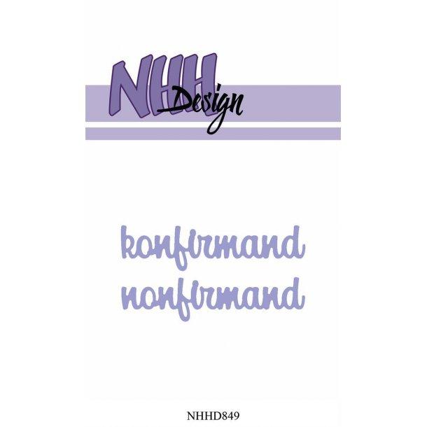 NHH Design Dies - NHHD849 - Konfirmand/Nonfirmand