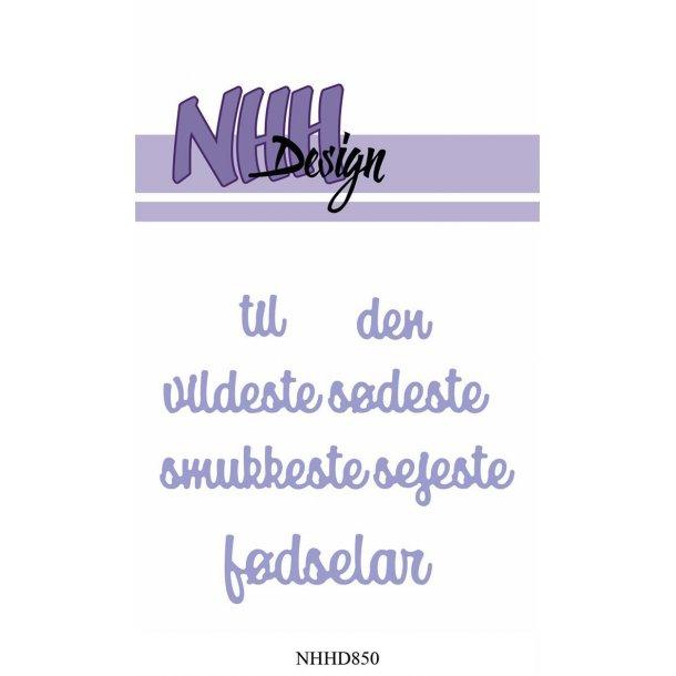 NHH Design Dies - NHHD850 - Fødselar