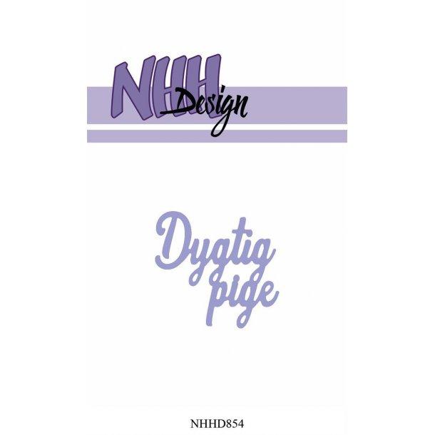 NHH Design Dies - NHHD854 - Dygtig pige