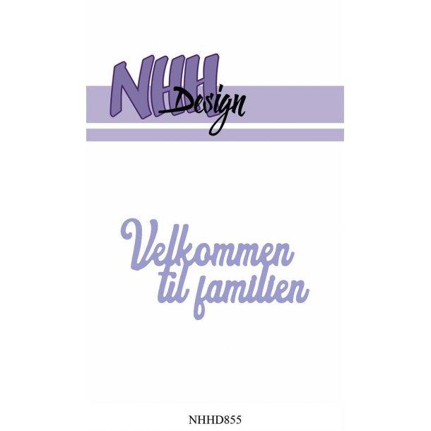 NHH Design Dies - NHHD855 - Velkommen til familien