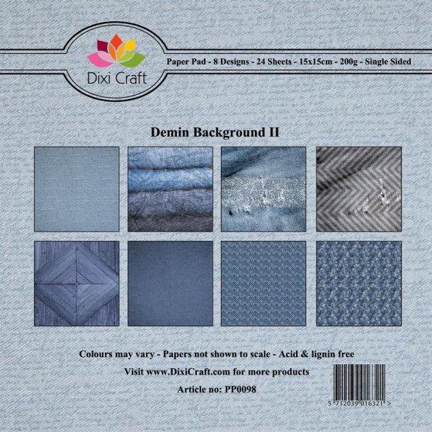 Dixi Craft Papirsblok 15x15cm PP0098