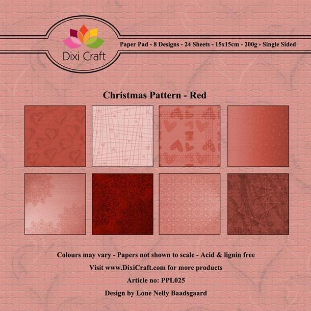 Dixi Craft Papirsblok 15x15cm PPL025
