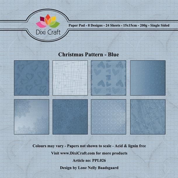 Dixi Craft Papirsblok 15x15cm PPL026